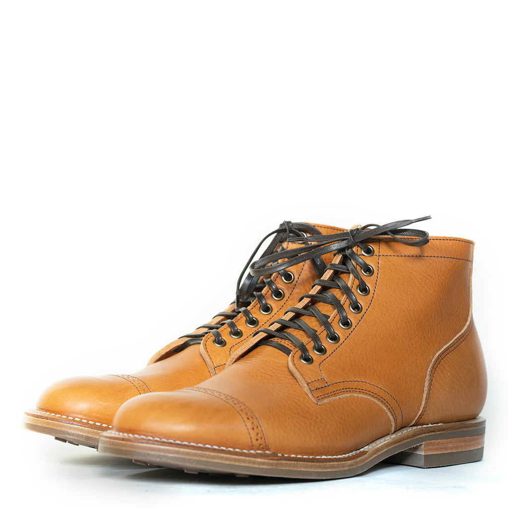 Viberg - Japanese Togichi Natural Cowhide Service Boot 1035 Last