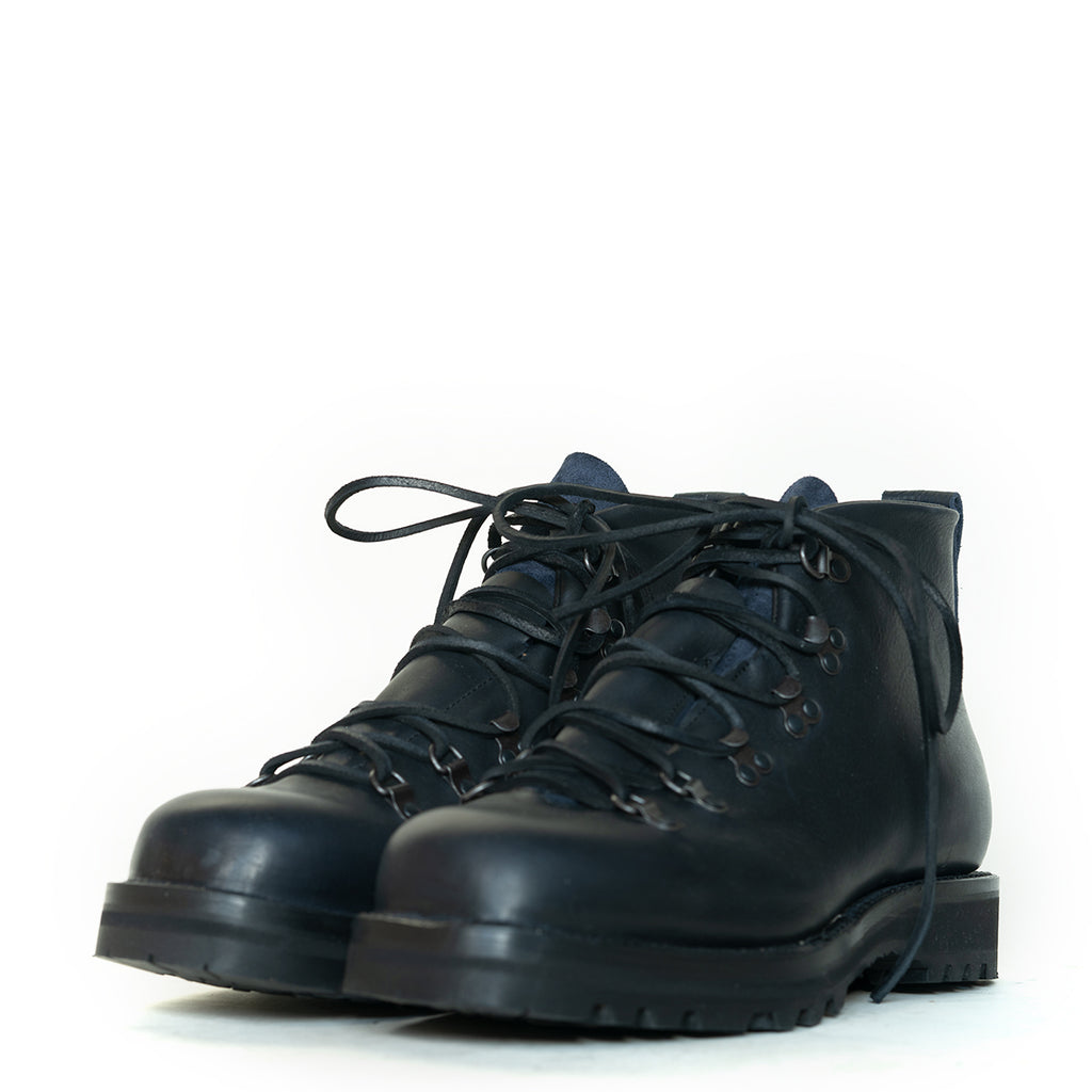 Viberg - Navy Oiled Calf Hiker Boot 320 Last