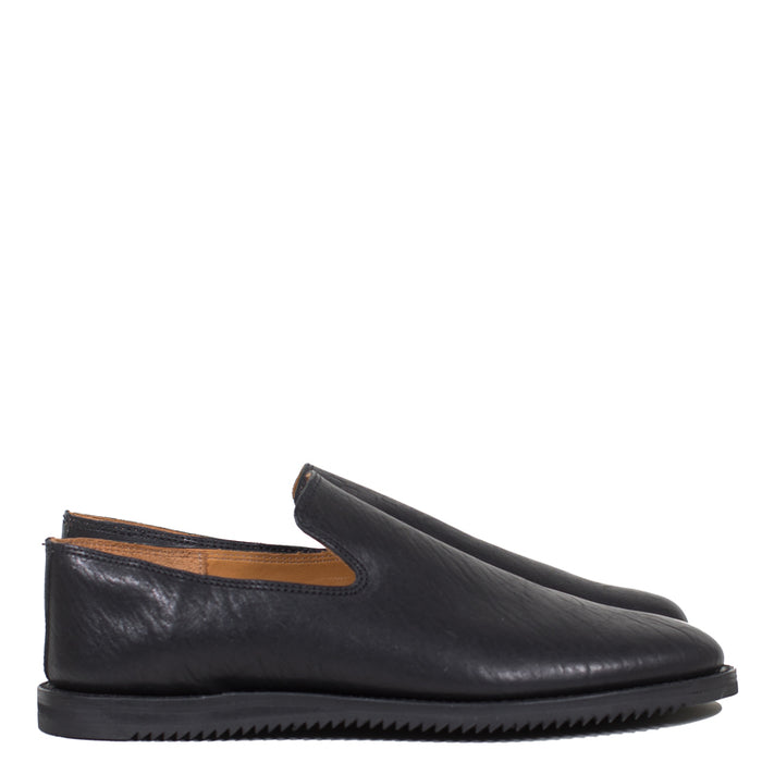 Viberg - Washed Horsehide Mini Ripple Slipper 40218 LAST