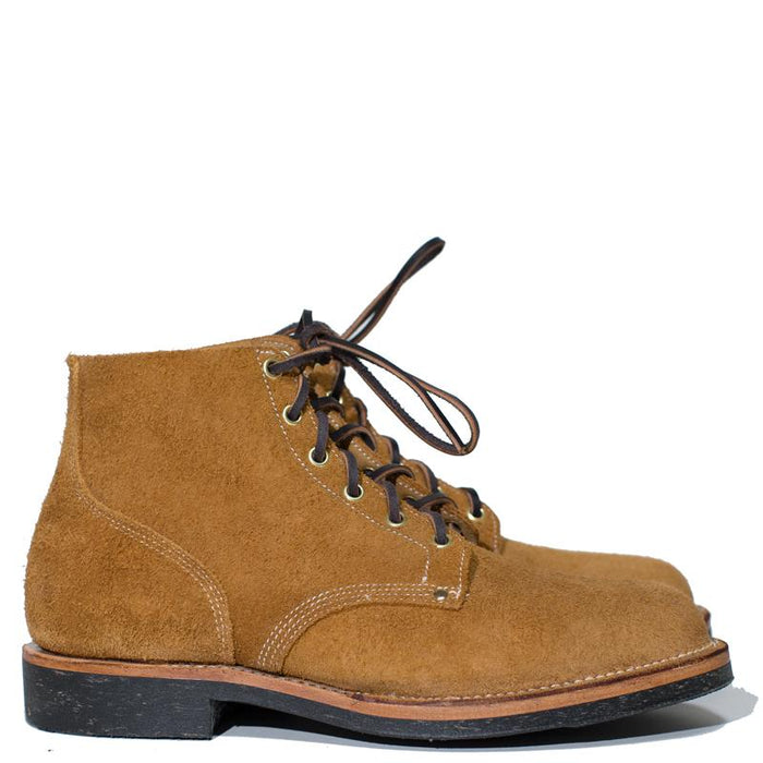 Viberg - Wheat Roughout Boondocker Boot 110 Last PREORDER 50% Deposit (910 full price)