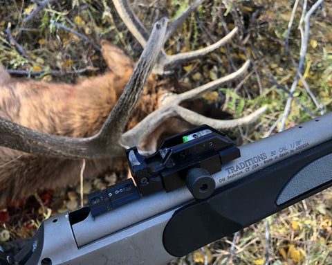muzzle loader crossbow seeall open sights