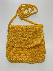 Crochet Bag - Small Yellow