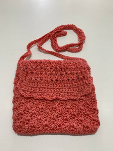 Crochet Bag - Small Coral