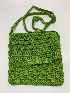 Crochet Bag - Small Green
