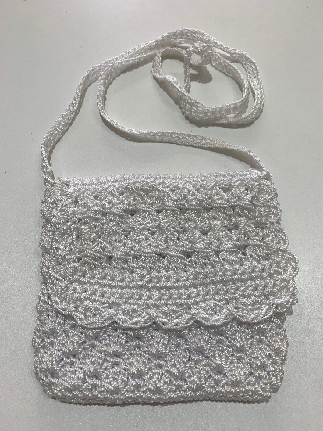 Crochet Bag - Small White