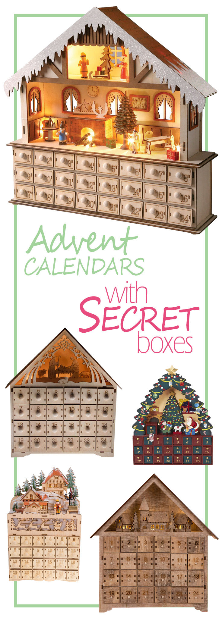 Wooden Advent Calendars