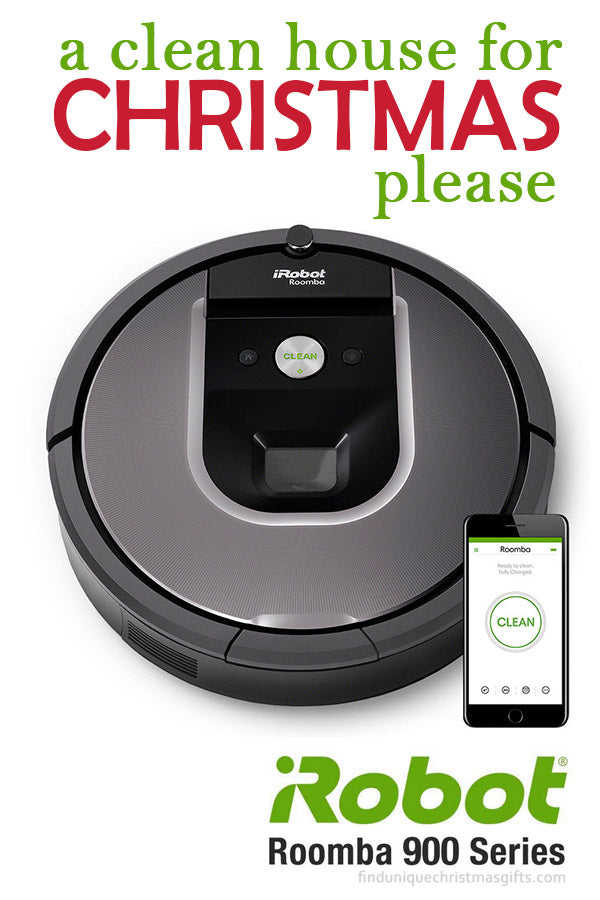 Christmas Gift Ideas iRobot Roomba 900 Series