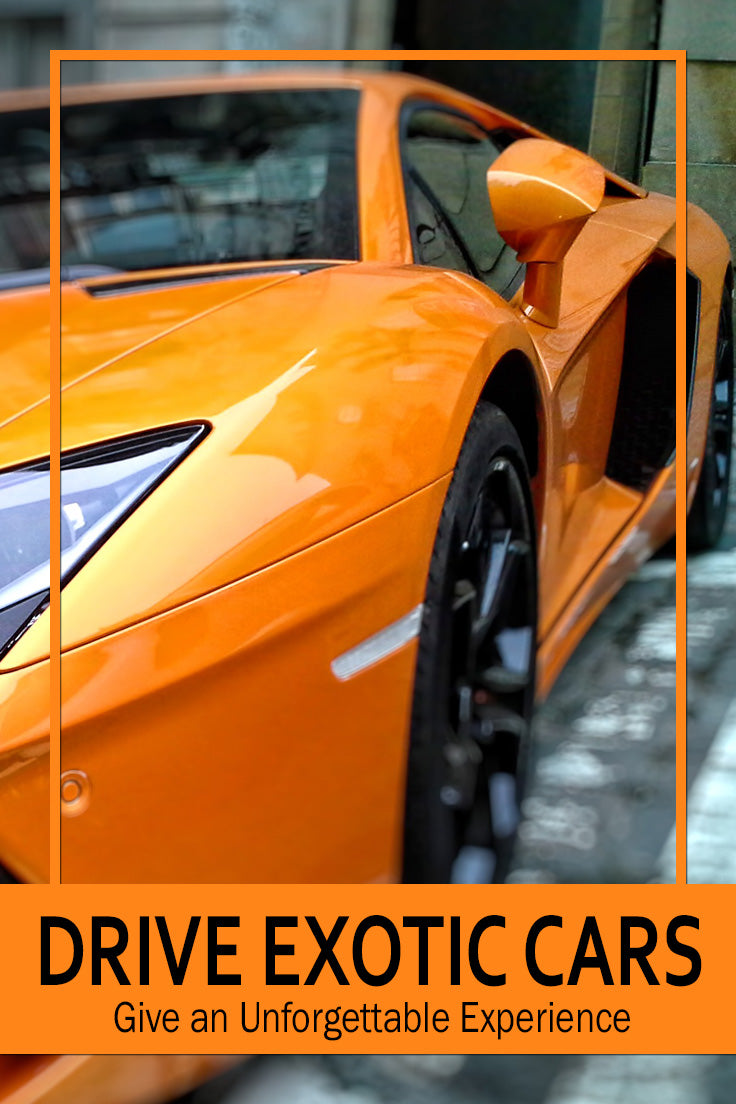 Great Gift Ideas for Men that love Cars Experience the thrill of Drving an Exotic Car | Find Unique Christmas Gifts