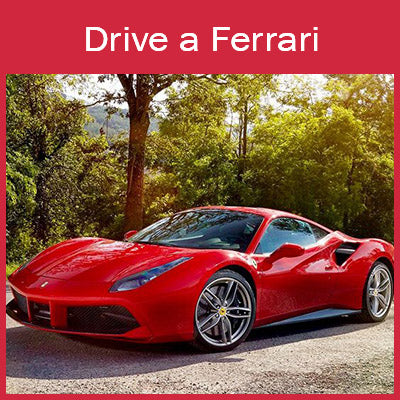 Christmas Experience Gifts Drive a Ferrari