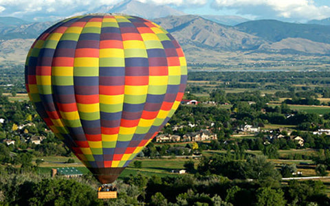Experience Gifts for Christmas Hot Air Balloon Rides