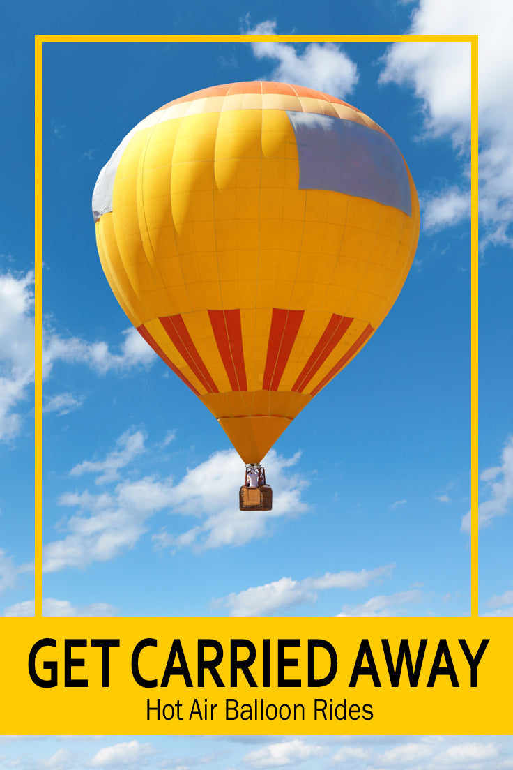 I would love to get carried away on a Hot Air Balloon Ride | Find Unique Christmas Gifts