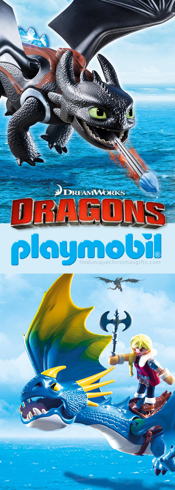 Christmas Gift Ideas Playmobil Dream Works Dragons