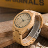Bamboo Wooden Watch For Men Sample
