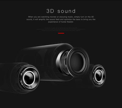 Bluedio US Deep Bass 3D Speaker System 3D Sound