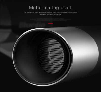Bluedio US Deep Bass 3D Speaker System Metal Plating Craft