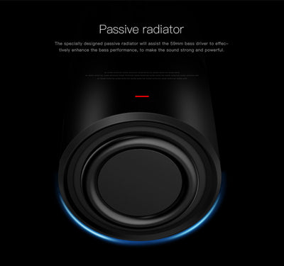 Bluedio US Deep Bass 3D Speaker System Passive Radiator