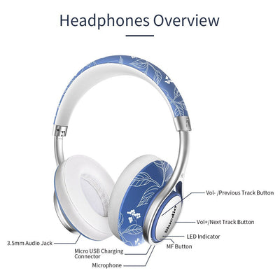 Bluedio T2 Air Bluetooth Lightweight Chic Headphones Overview