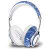 Bluedio T2 Air Bluetooth Lightweight Chic Headphones Blue & White