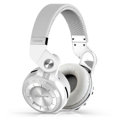 Bluedio T2s Wireless Bluetooth Headphones White