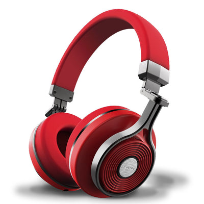 Bluedio T3 Bluetooth Headphones 3rd Generation Red