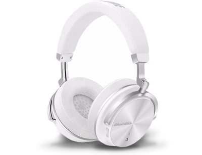 Bluedio T4 Bluetooth Noise Cancelling Headphones White
