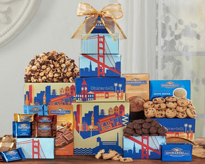 Christmas Gift Baskets Ghirardelli Company Tower