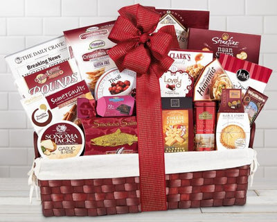 Christmas Gift Baskets the Classic