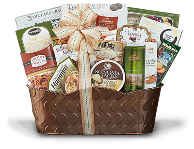 Christmas Gift Baskets the Connoisseur Collection