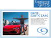 Christmas Experience Gift Drive an Exotic Car with Cloud 9 Living