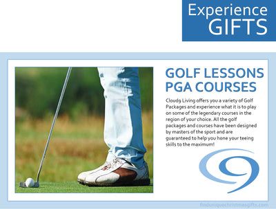 Cloud 9 Living Experiences Gifts Golf Lessons And PGA Courses