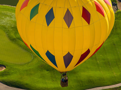 Cloud 9 Living Experiences Gifts Hot Air Balloon Rides Yellow Balloon