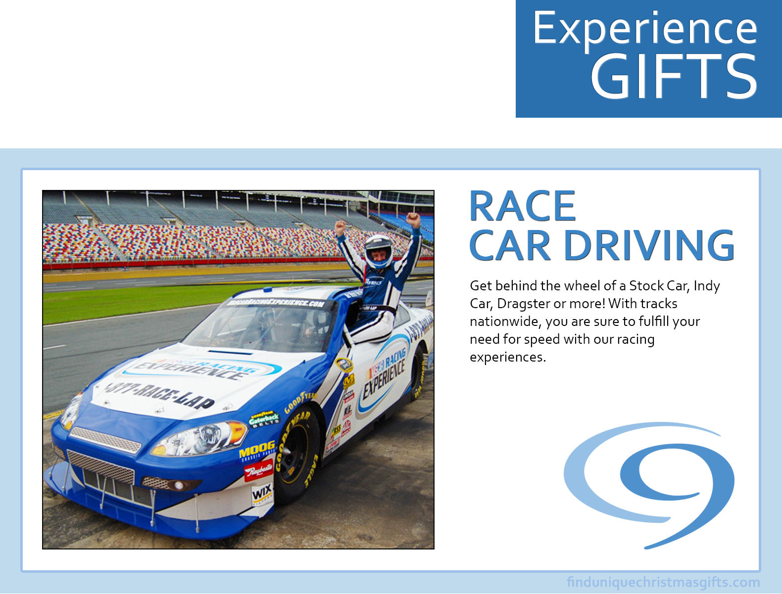 Race Car Driving - Experience Gifts Cloud 9 Living - Find Unique ...