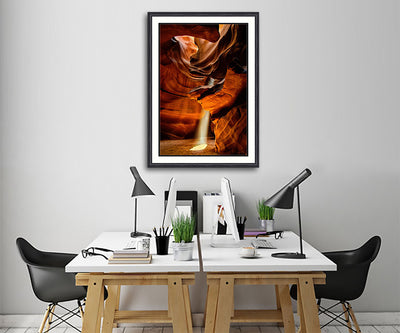 Fine Art Print Burning Light James K Watson Photography Framed Print On Wall