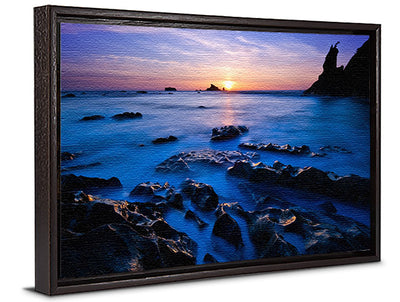 Fine Art Print Ethereal Sea_Jame K Watson Photography Canvas Floater Frame