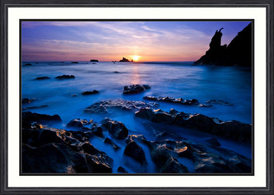 Fine Art Print Ethereal Sea_Jame K Watson Photography Framed