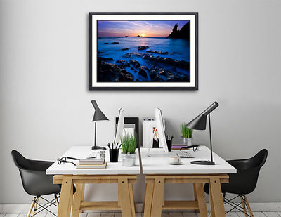 Fine Art Print Ethereal Sea_James K Watson Photography Hanging on Wall