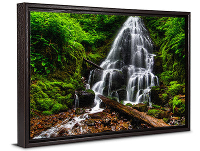 Fine Art Print Fairy Falls James K Watson Photography Canvas Floater Frame