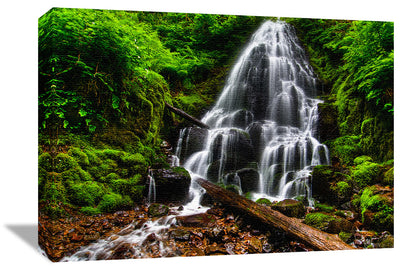 Fine Art Print Fairy Falls James K Watson Photography Canvas Print