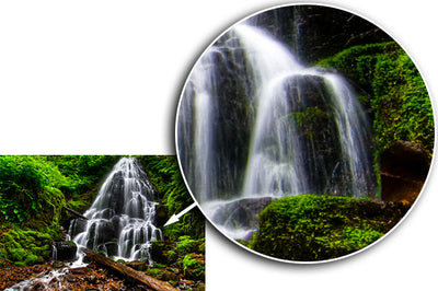 Fine Art Print Fairy Falls James K Watson Photography Details