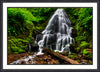 Fine Art Print Fairy Falls James K Watson Photography Framed Print