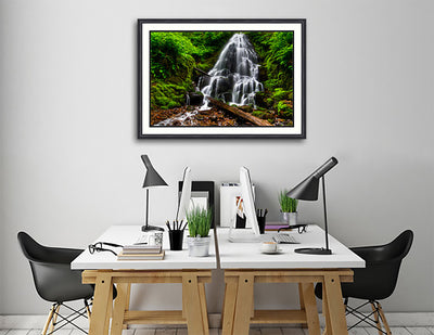 Fine Art Print Fairy Falls James K Watson Photography Print On Wall