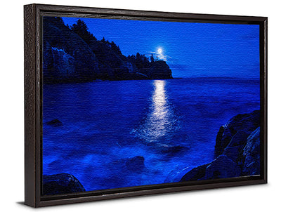 Fine Art Print Lighthouse Bay James K Watson Photography Canvas Floater Frame