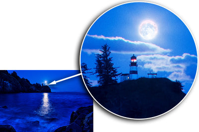 Fine Art Print Lighthouse Bay James K Watson Photography Details