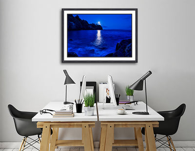 Fine Art Print Lighthouse Bay James K Watson Photography Print On Wall