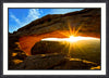 Fine Art Print Mesa Arch James K Watson Photography Framed Print