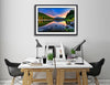Fine Art Print Morning Glory James K Watson Photography Hanging On Wall