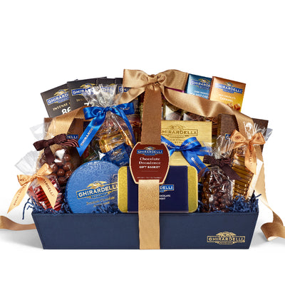 Ghirardelli Chocolate Decadence Gift Basket
