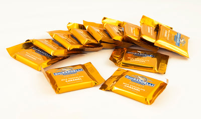Ghirardelli Chocolate Gold Bar Tin 12pc Whats Inside