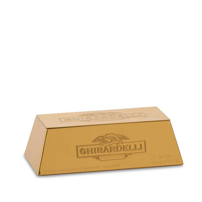 Ghirardelli Chocolate Gold Bar Tin 12pc