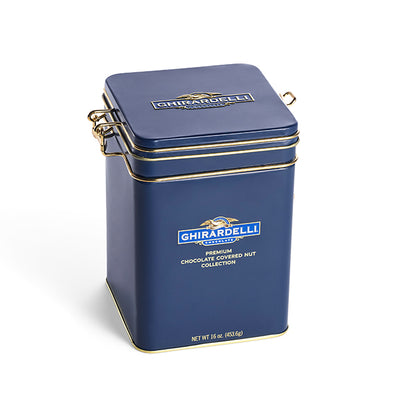 Ghirardelli Chocolate Signature Keepsake Tin 16 Oz